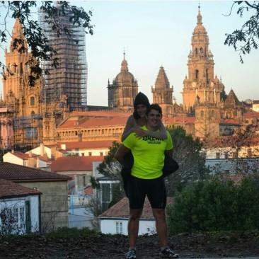 """""""Camino de Santiago"""". Leon - Santiago"""